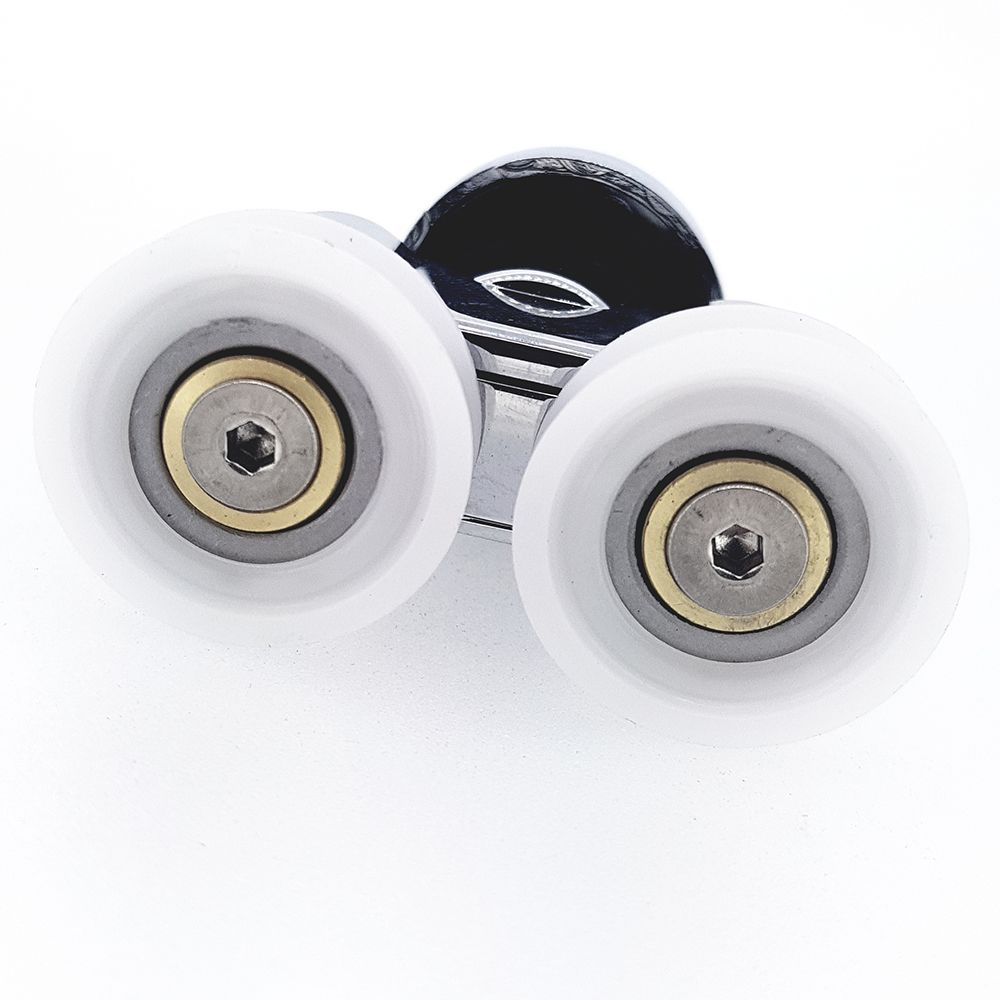 Matki Radiance Shower Replacement Chrome Wheel Rollers